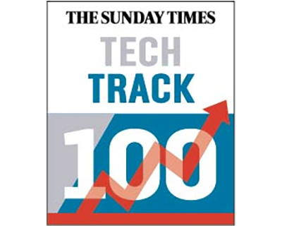 Mediatonic makes the Sunday Times Hiscox Tech Track 100
