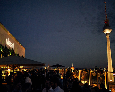 Frog hosts over 300 on the rooftop of Berlin ahead of the NOAH Conference