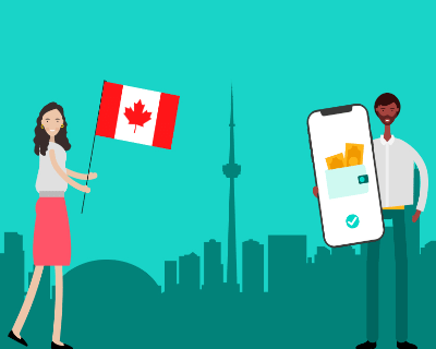 Azimo is now available in Canada
