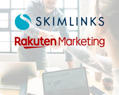 Skimlinks announces partnership with Rakuten Marketing