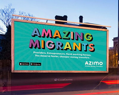 Azimo launch nationwide ad campaign celebrating Amazing Migrants