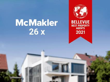 McMakler named Best Property Agent 2021 by Bellevue Magazine