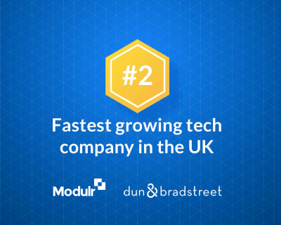 Modulr comes in 2nd in UK's Top 50 Fast-Growth Tech Companies list