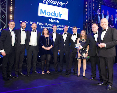 Modulr's award-winning direct access to Faster Payments